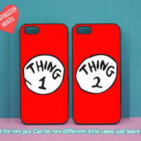 iphone 4 case,Thing one and Thing two,iphone 5C case,iphone 5S case,iphone 5 case,ipod 4 case,ipod 5 case,Blackberry Z10 case,Q10 case