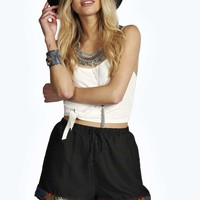 Abigail Mexicana Trim Shorts