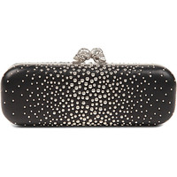 ALEXANDER MCQUEEN - Twin Skull studded leather box clutch | Selfridges.com