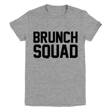 Brunch Squad Funny Graphic Tee
