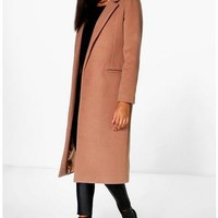Megan Tailored Coat | Boohoo