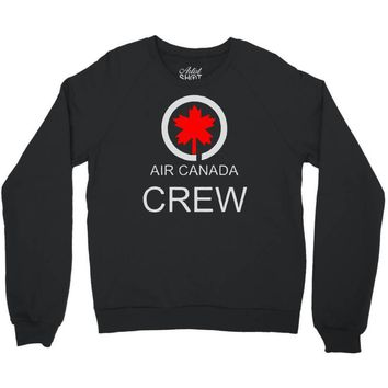 aviation air canada crew Crewneck Sweatshirt