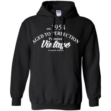 50th Birthday Gift Aged To Perfection Birthday Hoodie Birthday Gift Custom Hoodie Gift For Him Gift For Her Christmas Gift Funny Hoodie