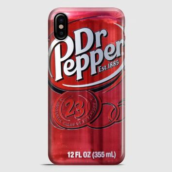 Dr Pepper iPhone X Case | casescraft