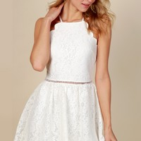 Easter Said Than Done Dress Ivory