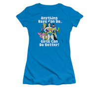DC Comics Girls Can Do Better Juniors T-Shirt