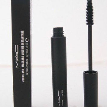 12pcs/lot Cosmetics MAC ZOOM Mascara LASH Makeup Lips