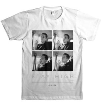 Official G-Eazy Merch Site — Stay High (White)