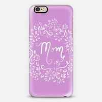 Mom (lavender) iPhone 6 case by Lisa Argyropoulos | Casetify