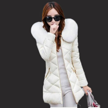 Winter jacket women Hot 2017 new lady park long female jacket thick coat and coat high quality warm Women's winter coats