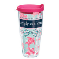 "Simpy Southern ""Southern Ties Turtles"" Tervis"
