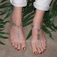 A Barefoot Sandals Shop QUALITY Barefoot Sandals Wedding Foot Body Hand Jewelry Womens Beach Clothing Shoes Accessories ABarefootSandalsShop