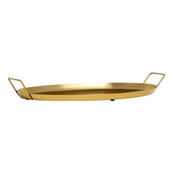 Oval Metal Tray - from H&M