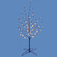 Small Brown Twig Tree - 4'h (from The Bottom Of The Base To The Top Of The Tree)