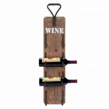 Wine Bottle Wooden Wall Rack