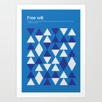 Free Will Art Print by Genis Carreras