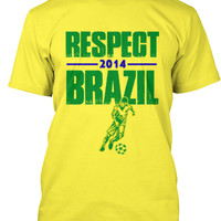 Limited Team Brazil World Cup 2014 Tee!