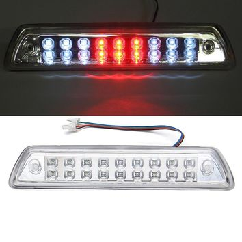 LED Clear Len Rear 3Rd Brake Stop Tail Light Lamp For Ford 09-14 F-150 F250 F350 Bronco 2009 2010 2011 2012 2013 2014