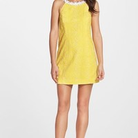 Lilly Pulitzer® 'Annabelle' Embroidered Cotton Eyelet Minidress | Nordstrom