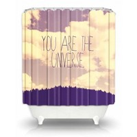 Artistic Shower Curtain | Rachel Burbee | Universe | Dianoche Designs