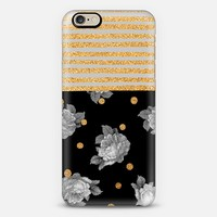 Roses dots and stripes iPhone 6 case by Sandra Arduini | Casetify