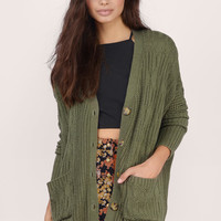 Arrowhead Oversized Cardigan