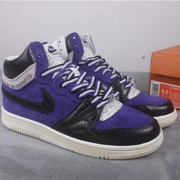 [Free Shipping ]  Nike Court Force Stussy Hi 25t 312270-542  Running Shoes