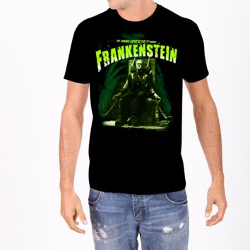 Frankenstein Electric Chair Mens Tee