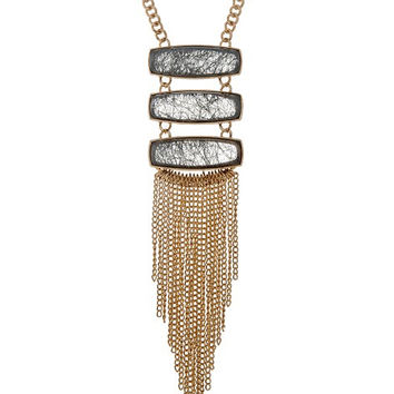 Nirvana Fringe Pendant Necklace