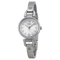 Fossil Georgia Mini Silver Dial Stainless Steel Ladies Watch ES3269 - Fossil - Shop Watches by Brand - Jomashop