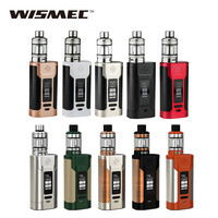 Original Wismec Predator 228 Kit with Elabo Tank 4.9ml NS Triple Coil vs only 228W Predator BOX Mod  E-cig Kit/Mod vs Smok Alien