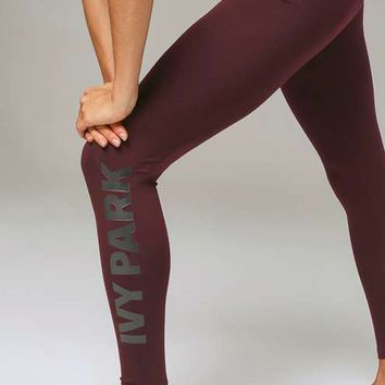 a51e04d4f9606 Logo Ankle Legging by Ivy Park - Ivy Park from TOPSHOP