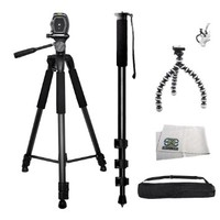 3 Piece Best Value Tripod Package For The Canon EOS Rebel series