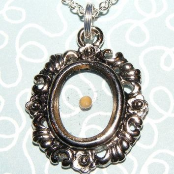 Mustard Seed Faith Pendant Necklace