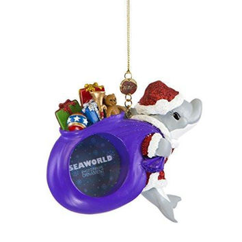SeaWorld Dolphin Frame Christmas Ornament New with Tag