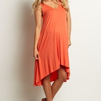 Coral-Sleeveless-Cross-Back-Dress