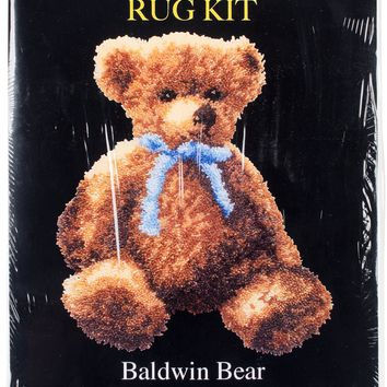 "Baldwin Bear Latch Hook Kit 21.5""X26"""