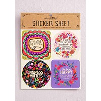 Go For It Sticker Sheet
