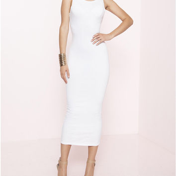 I Am Chic Too Extended Midi Bodycon Dress