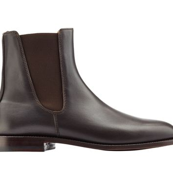 Wakeby Wolf Finesse Brown Chelsea Leather Boots