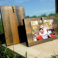 Rustic Picture Frame - Rustic Decor - Rustic Home Decor - Picture Frame - Gold Frame - Rustic Frame - Glitter Frame - 4X6 Frame