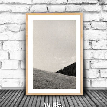 Home Decor, Living Room Decor, Living Room Wall Art, Landscape Photography, Nature Photography, Bedroom Decor, Black and White Wall Art