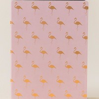 Soft Touch Pink Flamingo Journal