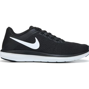 Nike Flex 2016 RN Running Shoe Black/Cool Grey/Whit