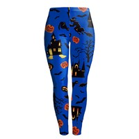 Free Shipping Fashion Women Leggins Gothic 3d Print Halloween Harry Potter Wizard Fitness Leggings Autumn Winter
