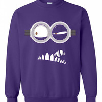 Purple Minion Crewneck - Hipster Tops