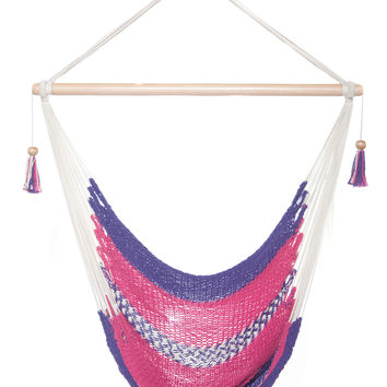 mission hammocks hanging hammock chair   pink and purple bunjo bungee chair from sports authority   for my room  rh   wanelo co