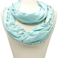 Chevron Spike Infinity Scarf: Charlotte Russe