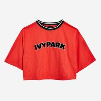 Airtex Cropped T-Shirt by Ivy Park | Topshop