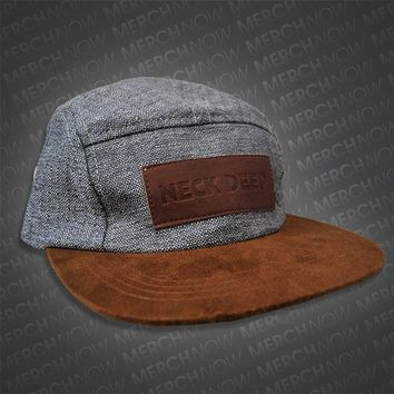 Logo 5-Panel Hat : Neck Deep